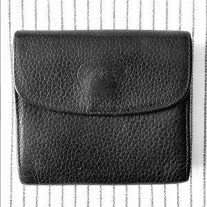 Classic Longchamp black leather wallet